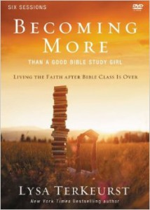 Becoming More - DVD Cover